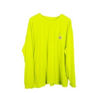 Carhartt Force Color Enhanced Long-Sleeve T-Shirt